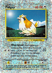 Pidgey - 85/110 - Common - Reverse Holo