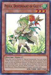 Pilica, Descendant of Gusto - PRIO-EN029 - Super Rare - 1st Edition
