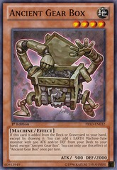 Ancient Gear Box - PRIO-EN032 - Common - 1st Edition on Channel Fireball