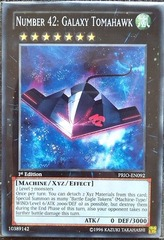 Number 42: Galaxy Tomahawk - PRIO-EN092 - Common - 1st Edition