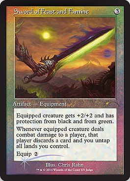 Sword of Feast and Famine (Judge Foil)