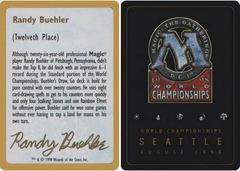 Biography - Randy Buehler - 1998