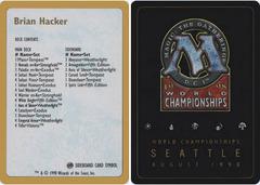 Decklist - Brian Hacker - 1998