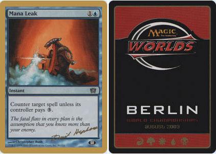 Duel Decks: Speed vs Cunning Magic Manaleck Mana Leak