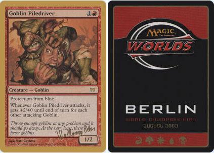 Goblin Piledriver - Wolfgang Eder - 2003