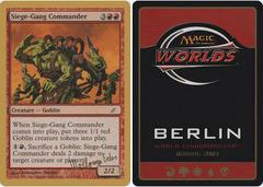 Siege-Gang Commander - Wolfgang Eder - 2003