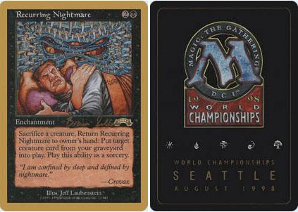 Recurring Nightmare - Brian Seldon - 1998