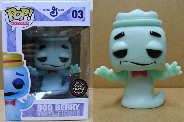 Ad Icons Series - #03 - GITD Boo Berry [SDCC 2011 Pre-Buy]