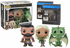 #03, #04 & #20  Burnt Khaleesi, Bloody Khal and Rhegal Blu Ray Bundle [Amazon Exclusive]