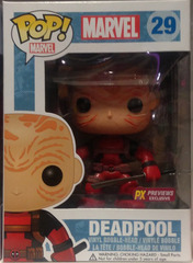 Marvel Series - #29 - Unmasked Deadpool [Previews Exclusive]