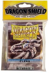 Dragon Shield Mini Card Sleeves (50 ct) - Clear