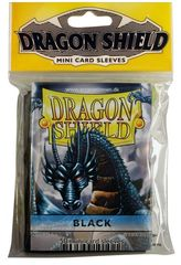 Dragon Shield Mini Card Sleeves (50 ct) - Black