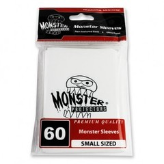 Monster Gloss Logo Small Sleeves (60ct) - White