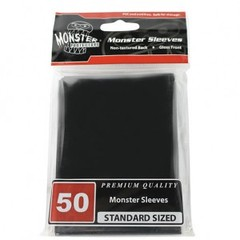 Monster Gloss Sleeves (50ct) - Black