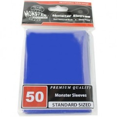 Monster Gloss Sleeves (50ct) - Blue
