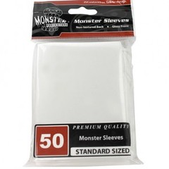 Monster Gloss Sleeves (50ct) - White