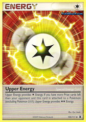 Upper Energy - 102 - Promotional - Crosshatch Holo Player Rewards Program 2009