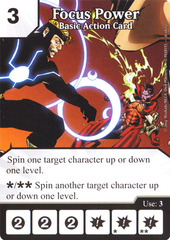 Basic Action Card - Focus Power (Card Only)