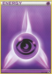 Psychic Energy - 109 - Promotional - Crosshatch Holo Pokemon League Insect Season 2011
