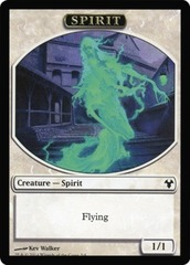 Spirit // Soldier Token on Channel Fireball