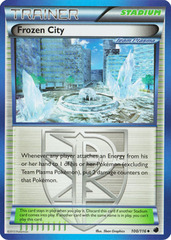 Frozen City - 100/116 - Promotional - Crosshatch Holo 2012 Player Rewards