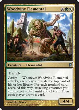 Woodvine Elemental - Foil