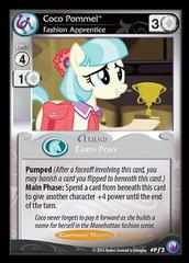 Coco Pommel, Fashion Apprentice - P2