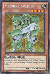 Machina Soldier - LCYW-EN168 - Secret Rare - Unlimited Edition
