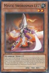Mystic Swordsman LV2 - LCYW-EN200 - Common - Unlimited Edition