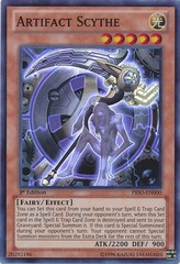 Artifact Scythe - PRIO-EN000 - Super Rare - Unlimited Edition on Channel Fireball
