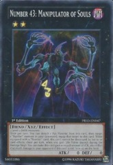 Number 43: Manipulator of Souls - PRIO-EN047 - Common - Unlimited Edition