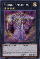 Bujinki Amaterasu - PRIO-EN052 - Secret Rare - Unlimited Edition