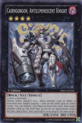 Cairngorgon, Antiluminescent Knight - PRIO-EN054 - Super Rare - Unlimited Edition