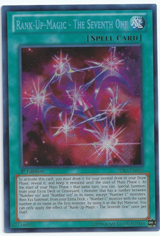 Rank-Up-Magic - The Seventh One - PRIO-EN058 - Secret Rare - Unlimited Edition