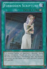 Forbidden Scripture - PRIO-EN067 - Secret Rare - Unlimited Edition