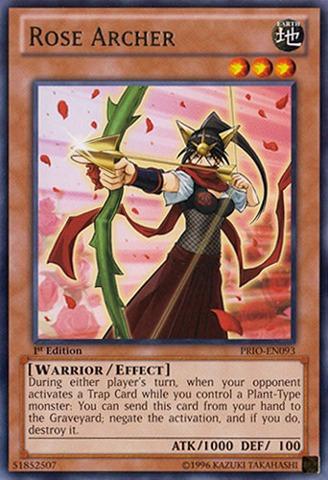 Rose Archer - PRIO-EN093 - Rare - Unlimited Edition