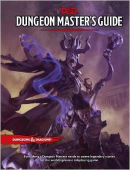 5th Edition Dungeon Masters Guide