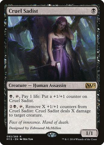 Cruel Sadist - Foil