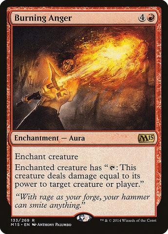 Burning Anger - Foil