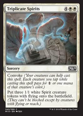 Triplicate Spirits - Foil