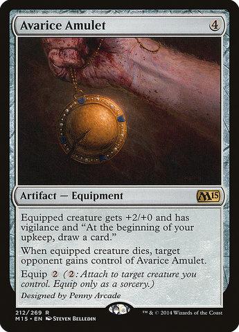 Avarice Amulet - Foil