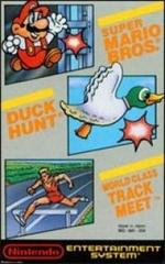 Super Mario Bros. / Duck Hunt / World Class Track Meet (No Nintendo Seal of Quality)