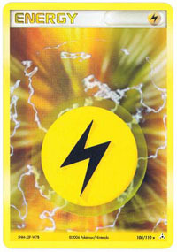 Lightning Energy - 108/110 - Rare Holo