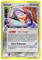Deoxys (Defense) - 4/110 - Holo Rare on Channel Fireball