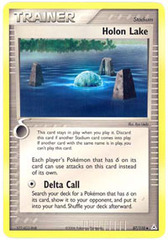 Holon Lake - 87/110 - Uncommon on Channel Fireball