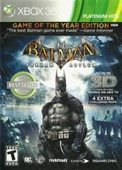 Batman: Arkham Asylum - Game of the Year Edition (Platinum Hits)