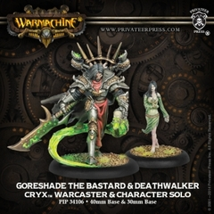 Goreshade the Bastard & Deathwalker Warcaster and Character Solo PIP 34088
