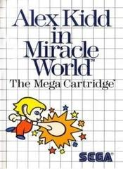 Alex Kidd In Miracle World (Blue Cartridge Label)
