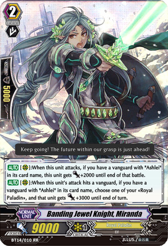 Banding Jewel Knight, Miranda - BT14/010EN - RR