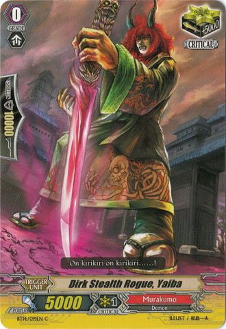 Dirk Stealth Rogue, Yaiba - BT14/091EN - C